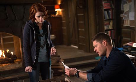 Dean and Charlie - Supernatural Season 10 Episode 18