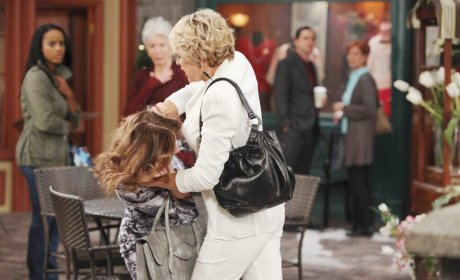 Town Square Brawl - Days of Our Lives