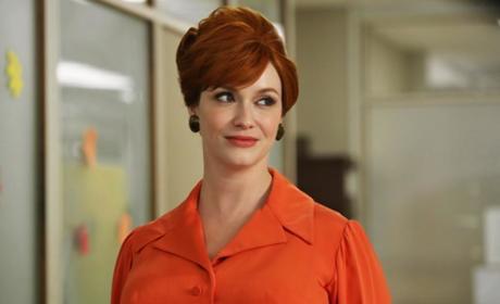 Christina Hendricks as Joan Harris -- Mad Men