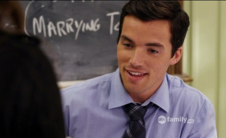 Ian Harding as Ezra Fitz -- Pretty Little Liars