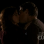 Megan and Charlie Kiss