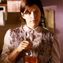 Wanda Mixes a Drink