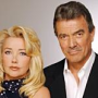 Melody Thomas Scott and Eric Braeden