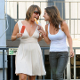 Cheryl Burke and Kelly Monaco Play Around