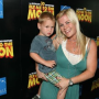 Alison Sweeney Cradles Son