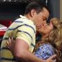 Alan and Melissa Kissing