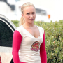 Heroes Set Shot: Claire the Cheerleader