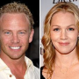 Ian Ziering Supports Jennie Garth
