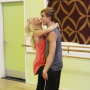 Playful Practice: Cody Linley and Julianne Hough