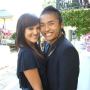 Lacey Schwimmer and Hok Konishi