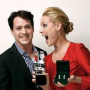 "T.R. Knight Presents Katherine Heigl With ""Superstar of Tomorrow"" Award"