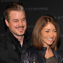 Eric Dane, Rebecca Gayheart at Fashion Week