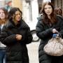 Spotted: Jessica Szohr & Michelle Trachtenberg