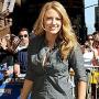 Blake: Lively and Lovely For Letterman