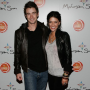 Spotted: Jessica Szohr and Robert Buckley