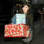 Jessica Szohr: A Smiling Shopper