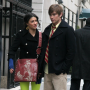 Gossip Girl Pictures From the Set: Nate and Vanessa