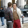 Chace, Ed, Blake and Penn on the Gossip Girl Set
