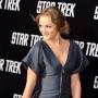 Leighton Meester Attends Star Trek Premiere