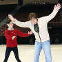 American Idol Picture of the Day: An Ice-Skating Idol