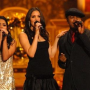 Katharine McPhee, Vanessa Hudgens and Ne-Yo Spend Christmas in Washington