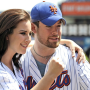 David Cook, Carly Smithson Meet, Greet the Mets