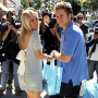 Heidi Montag and Spencer Pratt Shop and Smile
