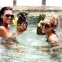 Audrina Patridge, Lauren Conrad Cool Off in Cabo