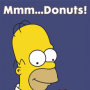 Happy Donut Day from Homer Simpson, TV Fanatic!