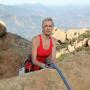 Sarah Climbing