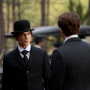Damon in a Bowler