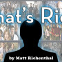 That's Rich: An Introduction...
