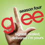 Glee cast signed sealed delivered im yours
