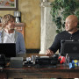 Deeks and Sam Laugh Together