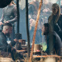 Ragnar, Lagertha and King Horik in Wessex