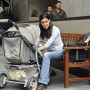 Kensi and a Baby Carriage