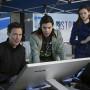 Harrison, Cisco and Caitlin - The Flash Season 1 Episode 1
