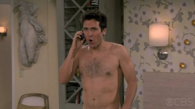 The Naked Man Poses - TV Fanatic