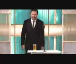 Ricky Gervais: Golden Globes Host, Provocateur