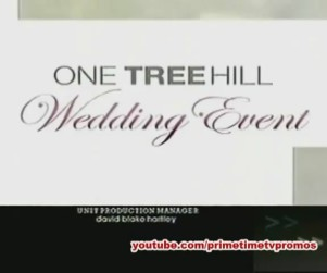 Ready for the One Tree Hill Wedding?