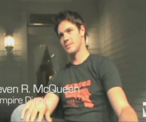 Exclusive Video Interview: The Vampire Diaries' Steven R. McQueen Speaks to TV Fanatic!