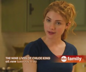 "Nine Lives of Chloe King Promo: Time for a ""Girls Night Out"""