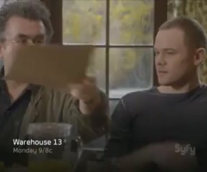 Warehouse 13 Promo & Sneak Peek: Accelerated Alzheimer's?