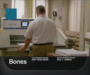 Bones Promo: It's My Corpse in a Box!