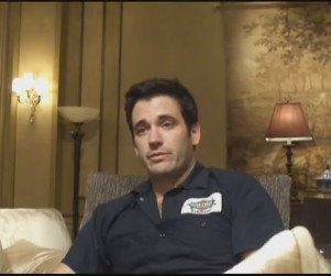 "Arrow Set Visit: Colin Donnell Teases ""Adult"" Love Triangle"