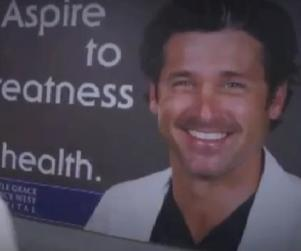 Grey's Anatomy Sneak Peek: That's a Big Poster!