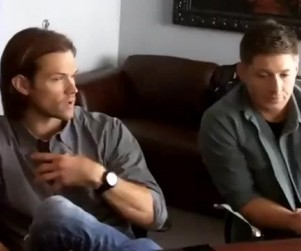 Supernatural Scoop: Jensen Ackles and Jared Padalecki Prepare to Meet Dorothy