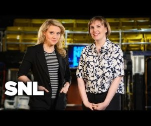 Lena Dunham SNL Promos: Who's Topless Now?