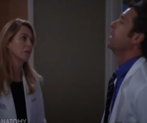 Grey's Anatomy Sneak Peek: Down Goes Derek!