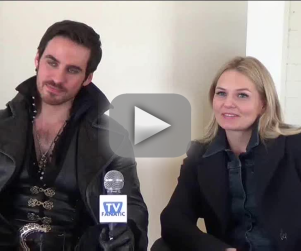 Once Upon a Time: Colin O'Donoghue & Jennifer Morrison Talk Cursed Lips, New Regina